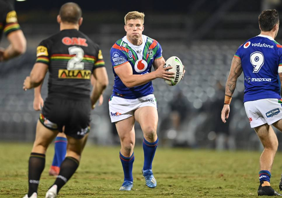Milton-Ulladulla's Jack Murchie has taken his game to another level since joining the Warriors. Photo: Grant Trouville/NRL Imagery