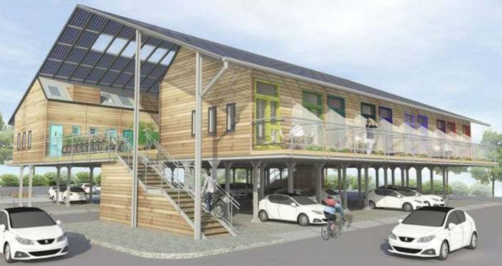 PLAN: An artist's impression of what the $5 million Nowra Veterans' Wellbeing Centre facility could look like. The final design is yet to be finalised and is subject to Shoalhaven City Council approval and community feedback.