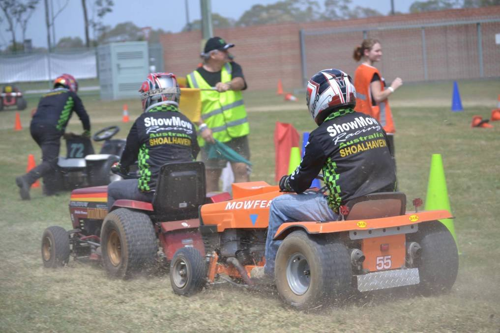 REVVING UP: Showmow Racing Australia are set to hit their new track. Image supplied.