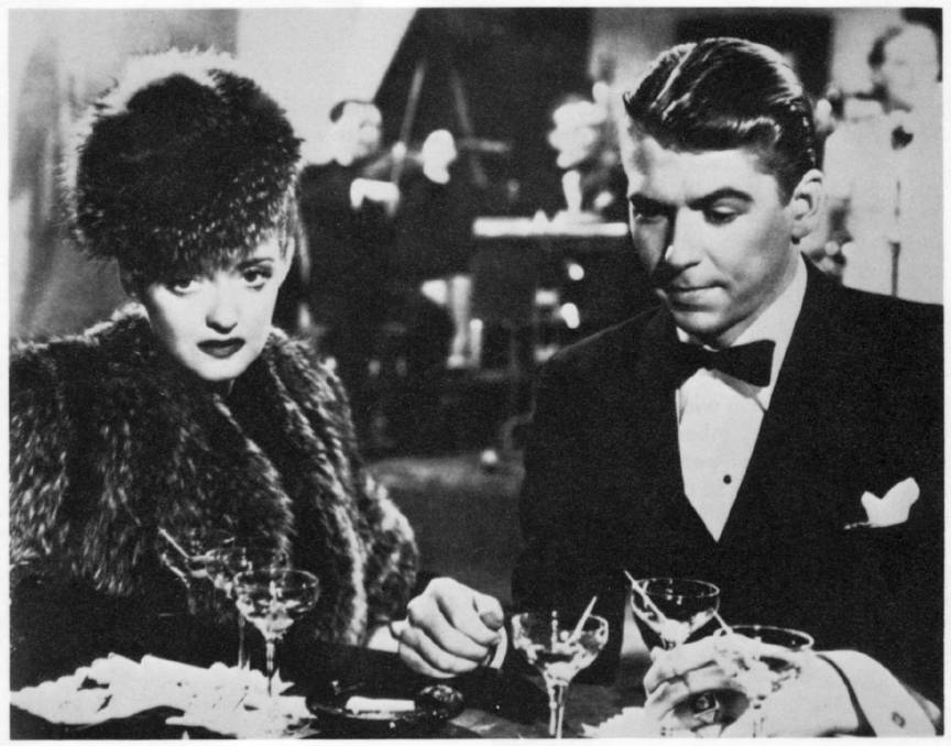 Bette Davis and Ronald Reagan in the Warner Bros film Dark Victory (1939). Picture: Supplied