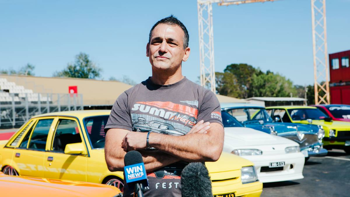 Summernats co-owner Andy Lopez. Picture: Jamila Toderas