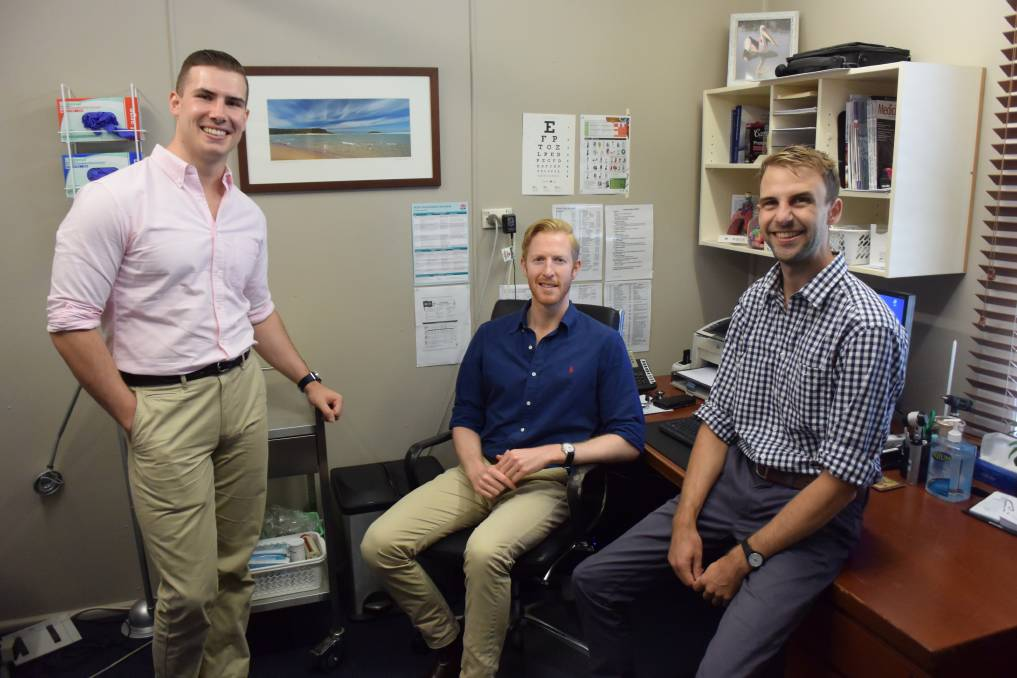Dr Patrick McNamara, Dr Tom McNamara and Dr William Scholz are part of the